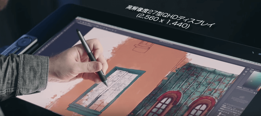 ワコム液晶タブレットサイズ|27インチvs13インチ|おすすめはどっち?
