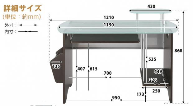 ペンタブおすすめの机サイズ