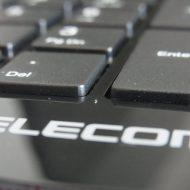 ノートパソコンのようなキーボード