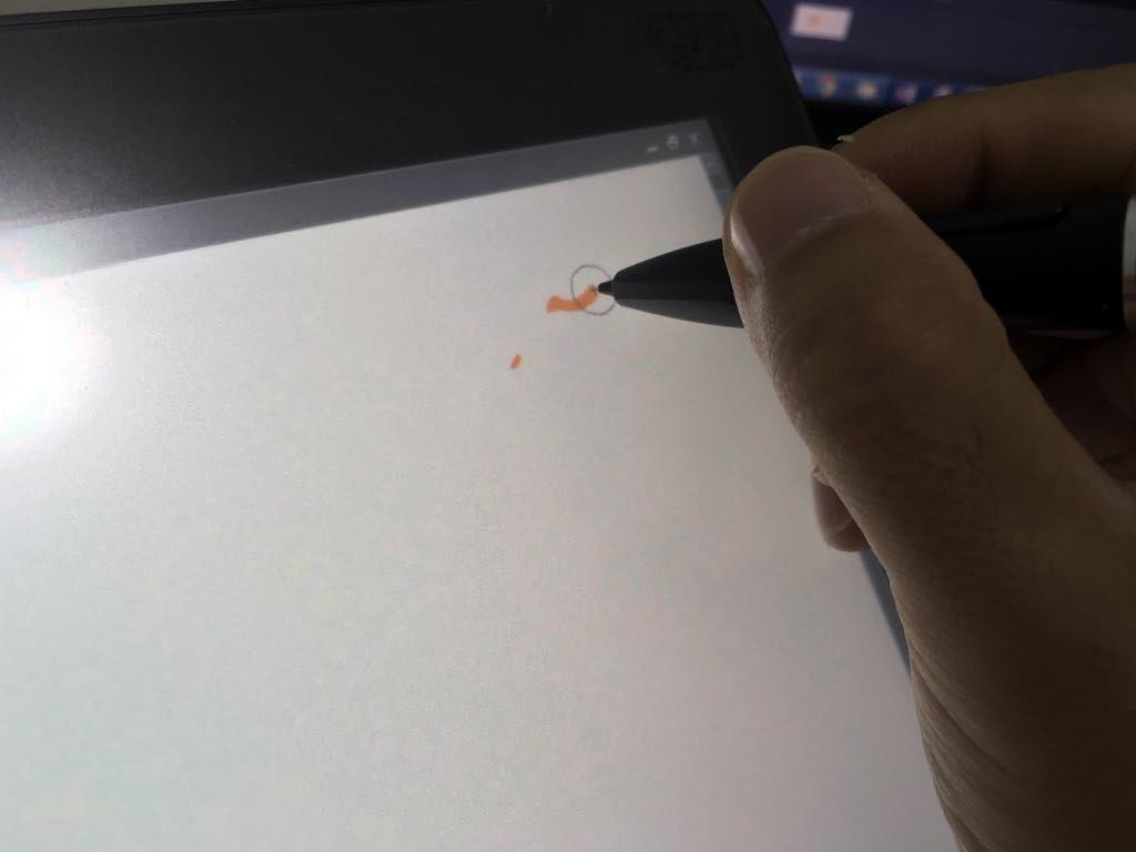 GT-191 ペン描き心地右上