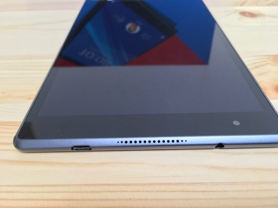 Lenovo Tab4 8 Plus スピーカー