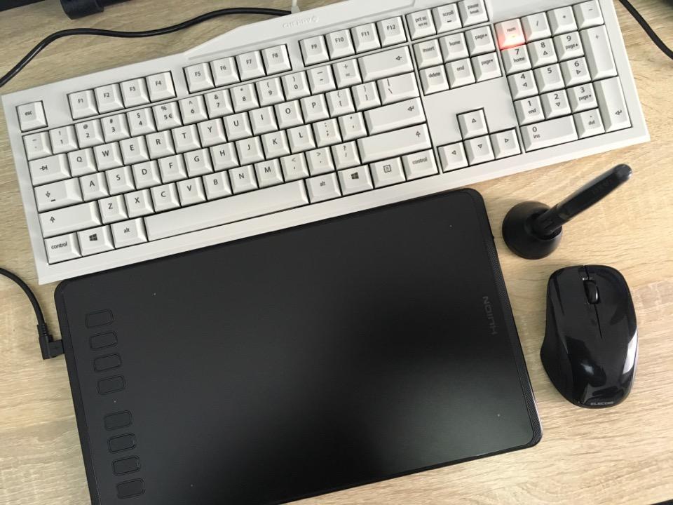 HUION H950P ペンタブレット