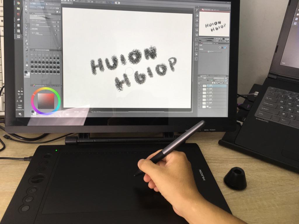 huion H610PRO レビュー