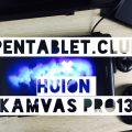 【HUION液タブKamvas Pro13レビュー】初の傾き検知ペンの描き味徹底検証
