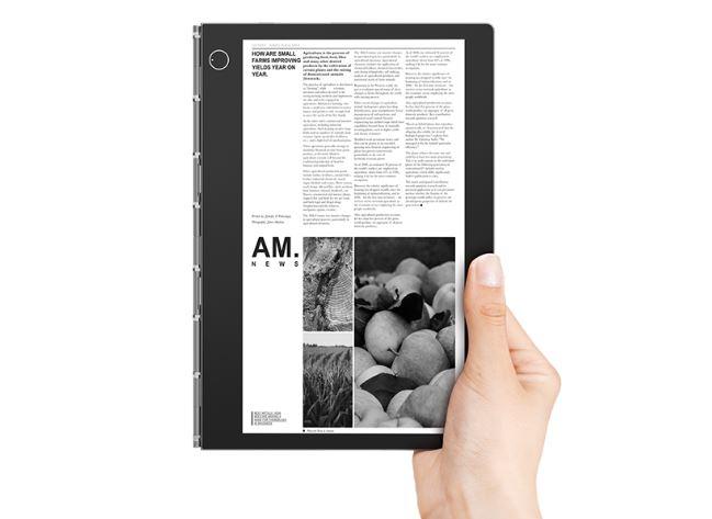 Lenovo YOGA BOOK C930 design