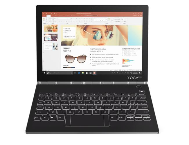 Lenovo YOGA BOOK C930 note