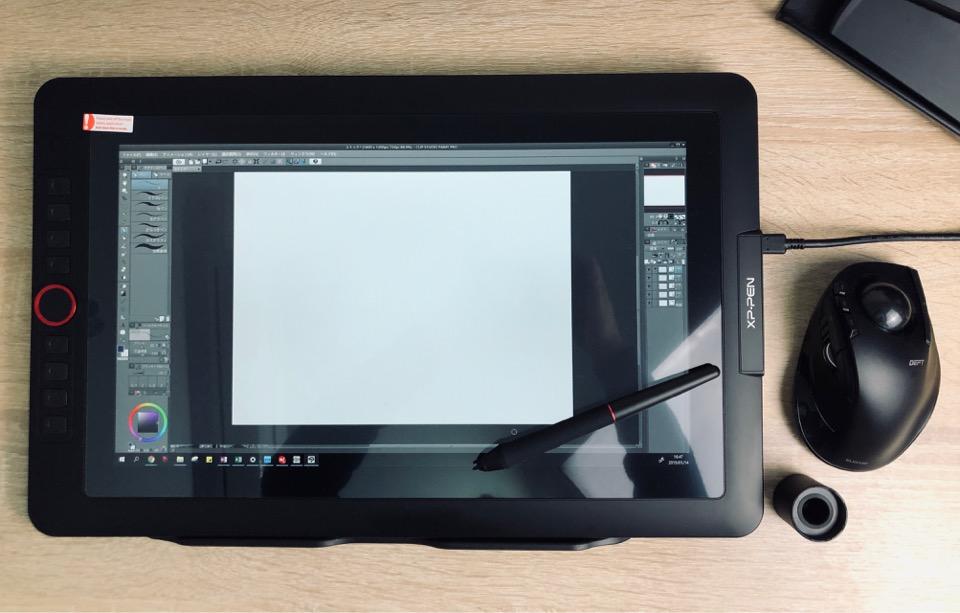 XP-PEN Artist15.6 Pro サイズ