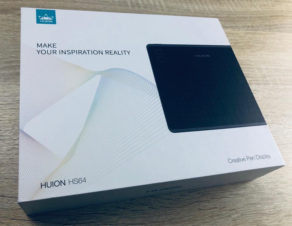 HUION HS64 ペンタブ