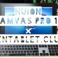 HUION Kamvas Pro 16開封レビュー|ワコムの4分の1の価格で買えるけど実際使える?