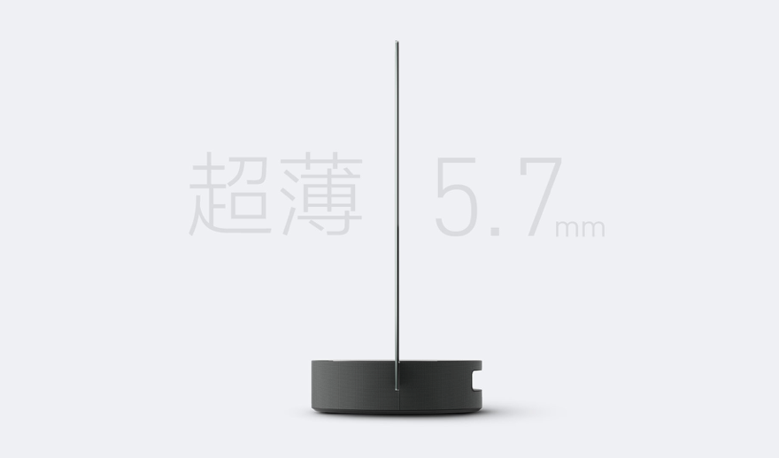 Xiaomi 透明OLEDディスプレイテレビ