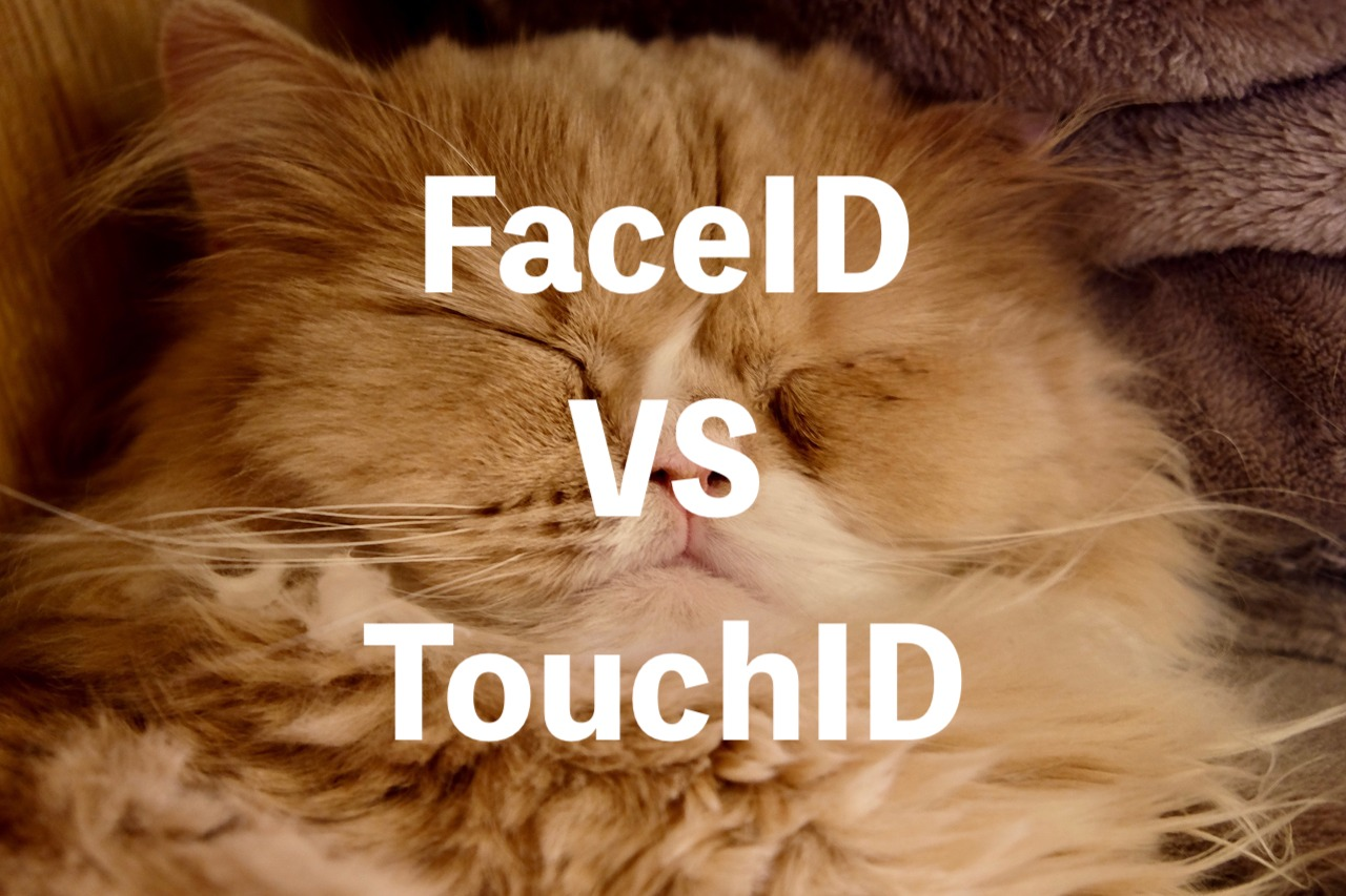 FaceID vs TouchID