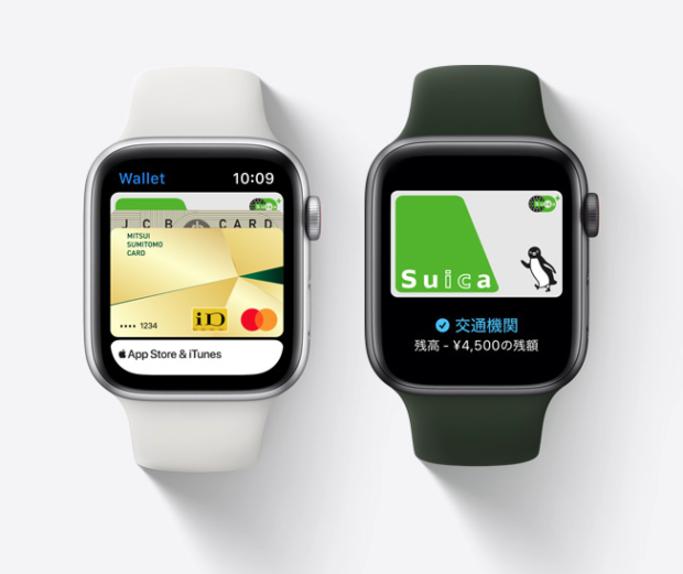 Apple watch wena 3 Suica