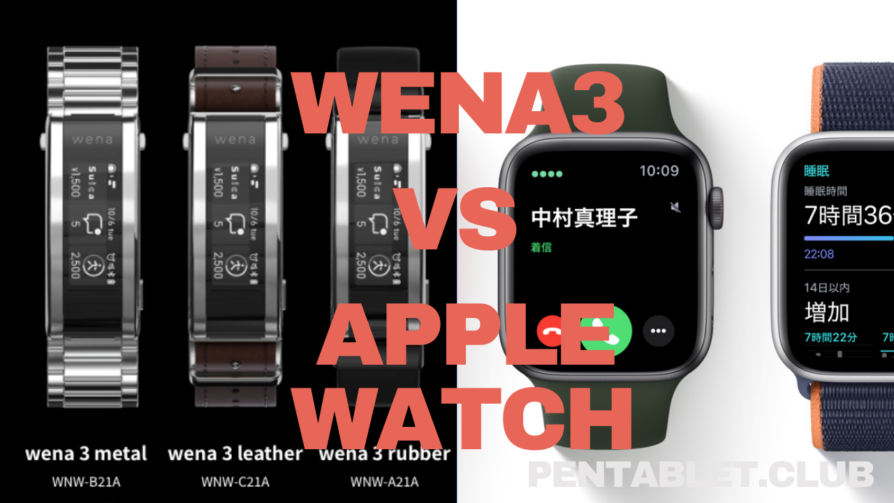 wena 3 vs apple watch