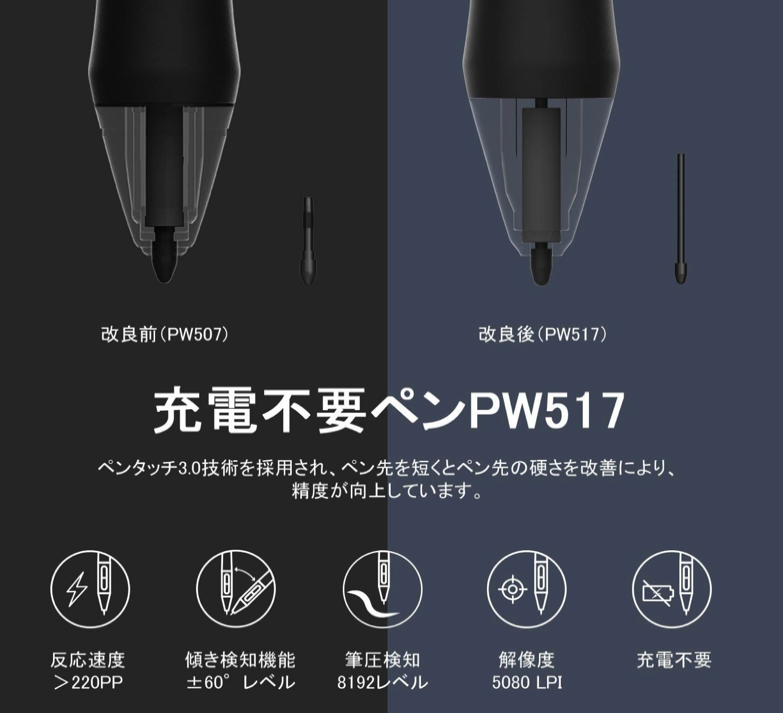 HUION Kamvas 16 2021 pen