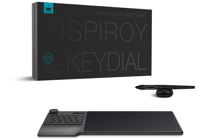 Inspiroy Keydial デザイン